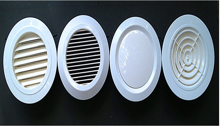 6 150mm Round Plastic Abs Ceiling Diffuser Grille Air Vent