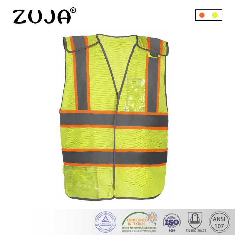 High Quality Mesh Safety Vest with Pockets for Women/Man high quality mesh safety vest with pockets for women man