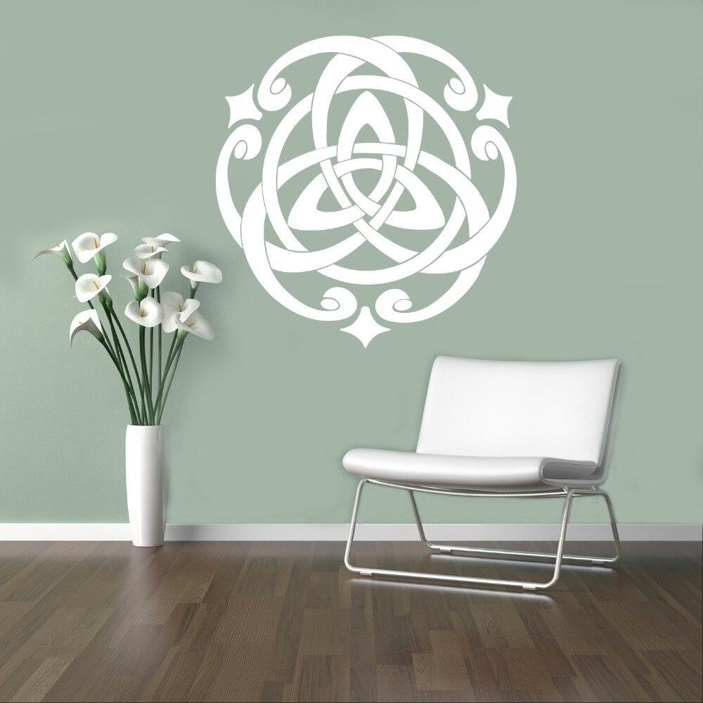 Faszinierend Wandtattoo Home Sweet Home Das Beste Von Celtic Muster Modernes Design Vinyl Wandaufkleber Innen