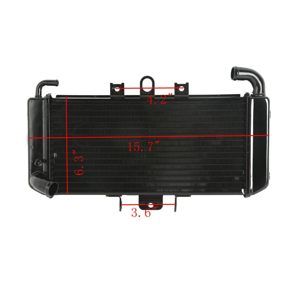 Radiator Cooler Aluminum For YAMAHA FZS600 FZ600 FAZER 1998-2003 99 00 01 02 New