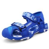 Dollplus 2019 Casual Kids Sandals Toddler Sandals for Boys Children Shoes Beach Shoes Boys Sandals 25 37#