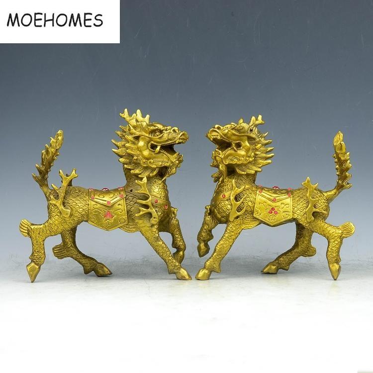 Китайський бронзовий латунь Феншуй - Домашній декор - фото 2