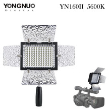 YONGNUO YN160 II LED Video Light 160 LED Lamp Lights Photographic Lighting 5500K for Photo Studio DSLR Camera Camcorder