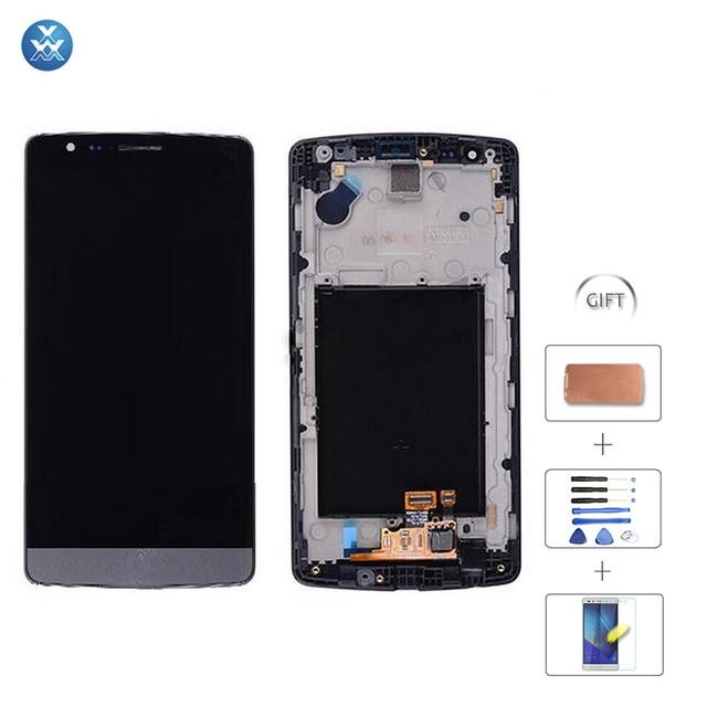 Branco Preto Tela De Lcd Para LG G3 Mini D725 G3s D724 D722 Batida G3 Tela Lcd Touch Screen Digitador Assembléia Lcd
