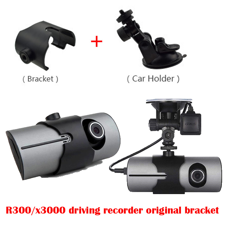R300/x3000 Driving Recorder Original Bracket,car Dvr   R300/X3000 Of Holder Dash Cam Mirror Mount Kit For X3000 Dash Cam