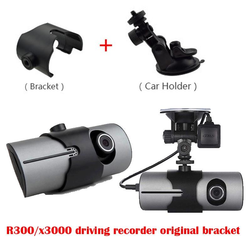 R300/x3000 Driving Recorder Original Bracket,car Dvr   R300/X3000 Of Holder Dash Cam Mirror Mount Kit For X3000 Dash Cam