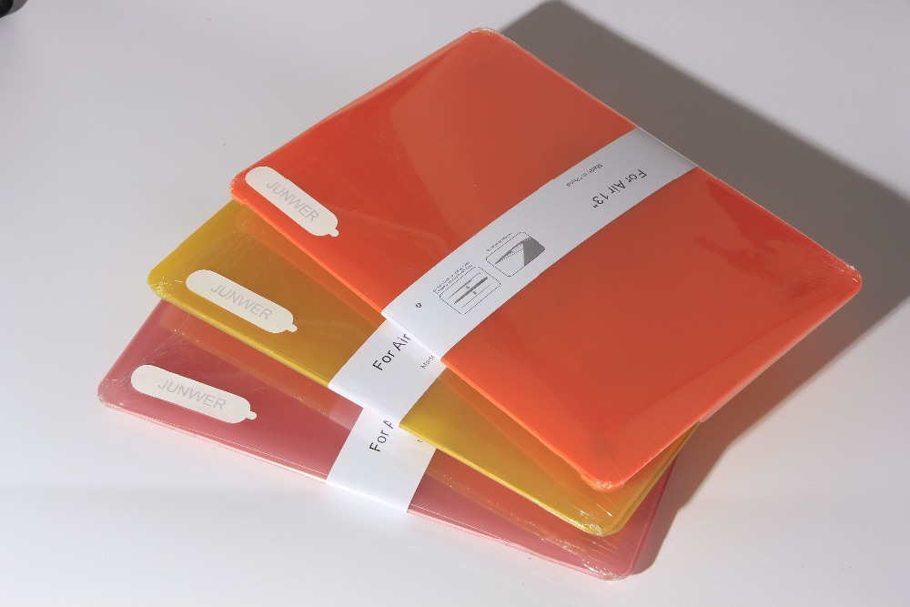 JUNWER CrystalMatte Transparent Case For Apple Macbook Air Pro Retina 11 12 13.3 15 For Macbook Air 13 A1932 Laptop Case Cover 38