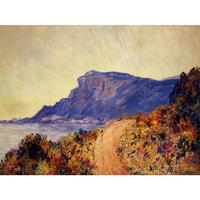 High quality Claude Monet paintings Coastal Road at Cap Martin, near Menton oil on canvas hand painted Home decor