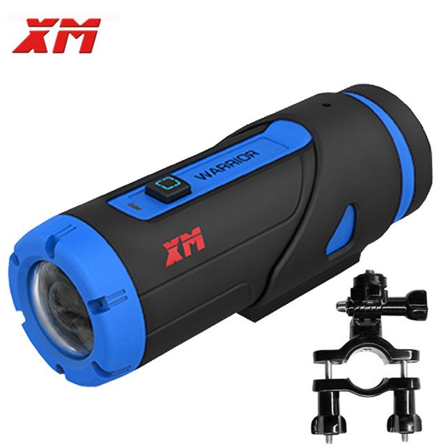 1080 P Full HD Night Vision Câmera de Ação Esporte DV Wi-fi à prova d' água Câmera Gravador Com Clip Holder E Cartão de 32 GB Como gopro