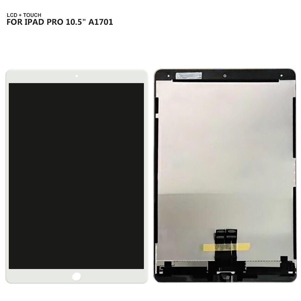 Para 10,5 iPad Pro pantalla LCD digitalizador de pantalla táctil de cristal Asamblea A1709 A1701 LCD + herramientas