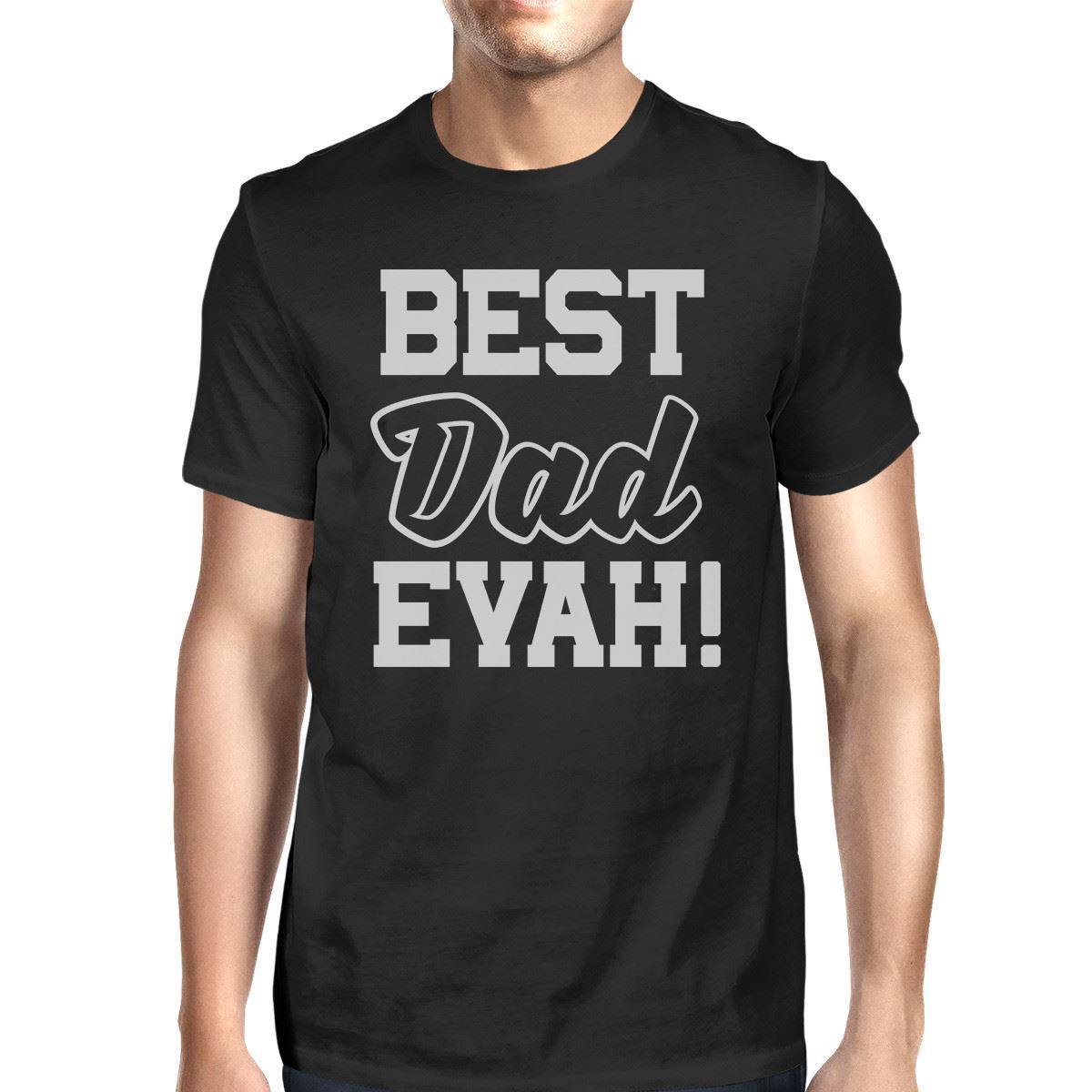 Gildan Best Dad Ever T-Shirt For Men Unique Design Funny Fathers Day Gifts