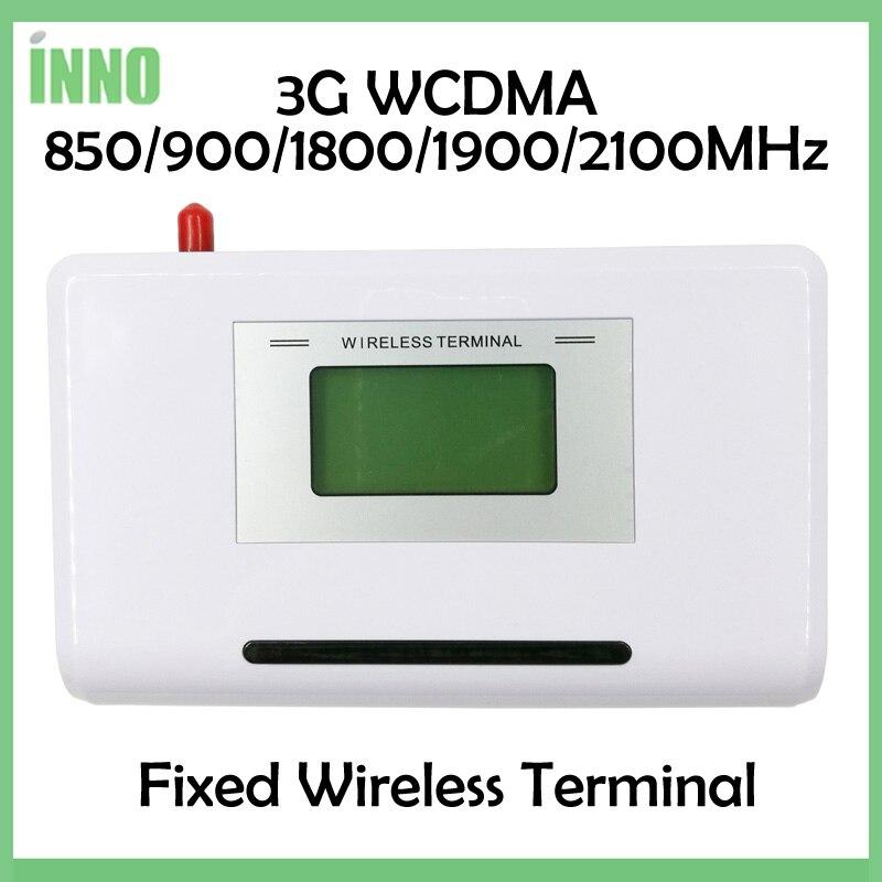 2 шт. 3 г WCDMA терминал, 850/900/1800/1900/2100 мГц, поддержка аварийная система, АТС, Clear Voice, стабильный сигнал