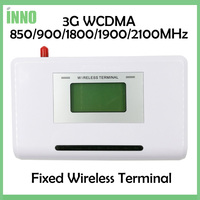 2PCS 3G WCDMA Fixed Wireless Terminal 850 900 1800 1900 2100MHZ Support Alarm System PBX Clear