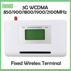 2PCS 3G WCDMA Fixed wireless terminal, 850/900/1800/1900/2100MHZ, support alarm system, PBX, clear voice, stable signal