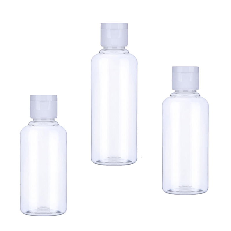 SZCJMYKJ 1Pcs Portable Empty Bottle 50ml 60ml 100 Ml Plastic Bottles For Travel Sub Bottle Shampoo Cosmetic Lotion Container