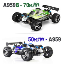 Lynrc A959 RC Car 2.4G Radio Remote Control Model Scale 1:18 Rally Shockproof Rubber wheels Buggy Highspeed Off-Road