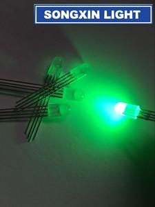 Image 3 - 1000 pcs LED 5mm RGB 확산 LED 일반적인 음극 4 핀 RGB 트라이 컬러 방출 다이오드 5MM 레드/그린/블루 led 램프
