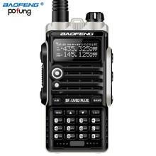 Baofeng BF UVB2 Plus Walkie Talkie 8W High Power Powerful walkie talkie 10km long range Two