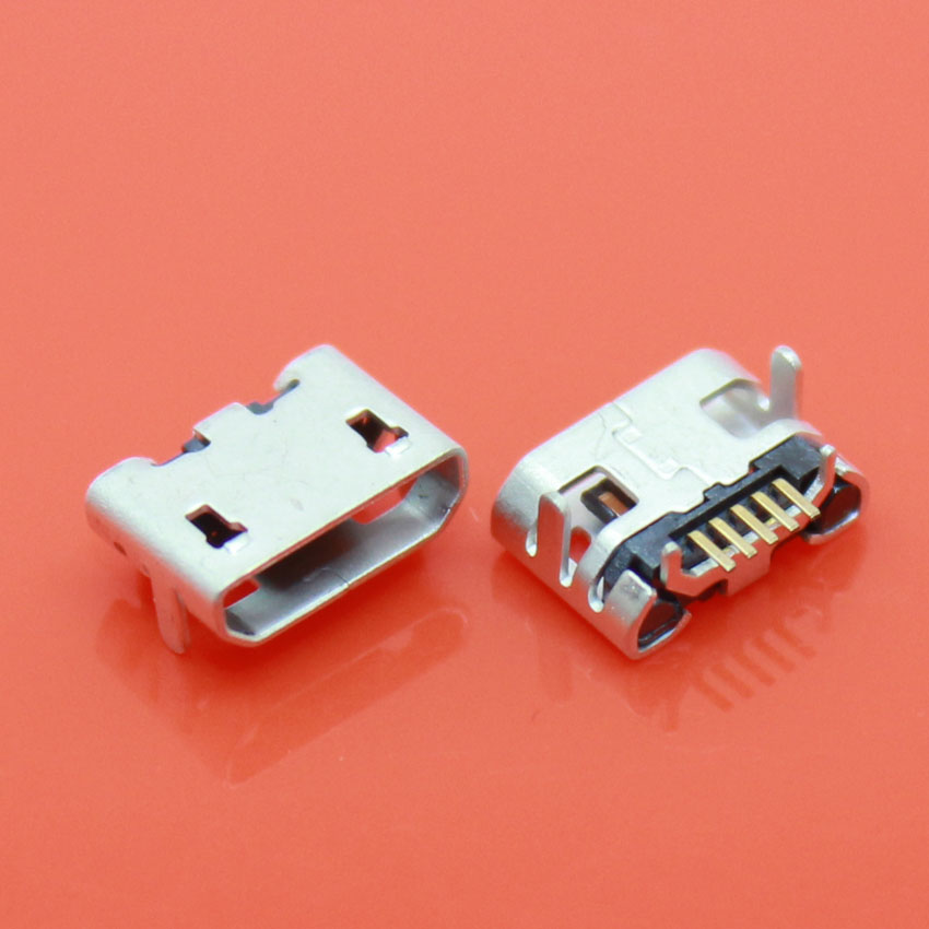 JCD Micro USB Connector New For ASUS Memo Pad 7 ME170C DC Charging Socket Port For Replacement 1PCS/LOT