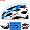 Kingbike capacete de bicicleta ultraleve, capacete de ciclismo para montanha, estrada, mtb, capacetes de luz traseira para homens e mulheres, esportes ao ar livre 14