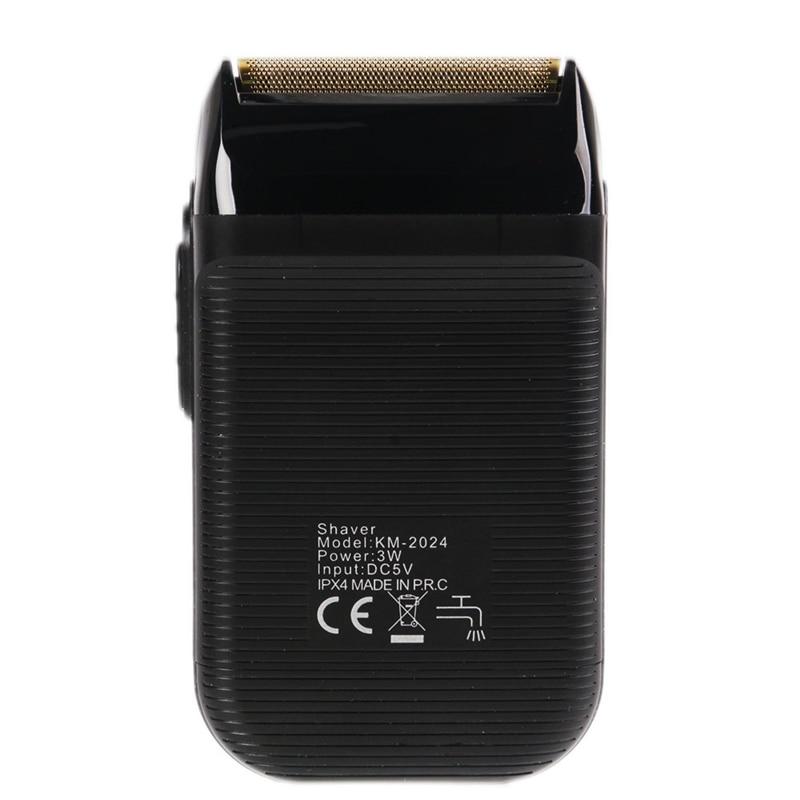 Electric Beard Shaver Men Twin Blade Waterproof Reciprocating Cordless Razor USB Rechargeable Shaving Machine Barber Trimmer 1