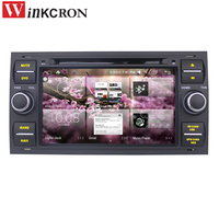 2 Din Android GPS 7.0 Screeen 6.0 2GB+32GB Car Audio Radio Stereo GPS Navigation For Ford Fusion Kuga Focus 2 Multimedia Player