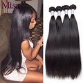 7A Malaysian Virgin Hair 4 Bundles Straight Human Hair Virgin Malaysian Straight Hair Unprocessed Malaysian Virgin Hair Straight