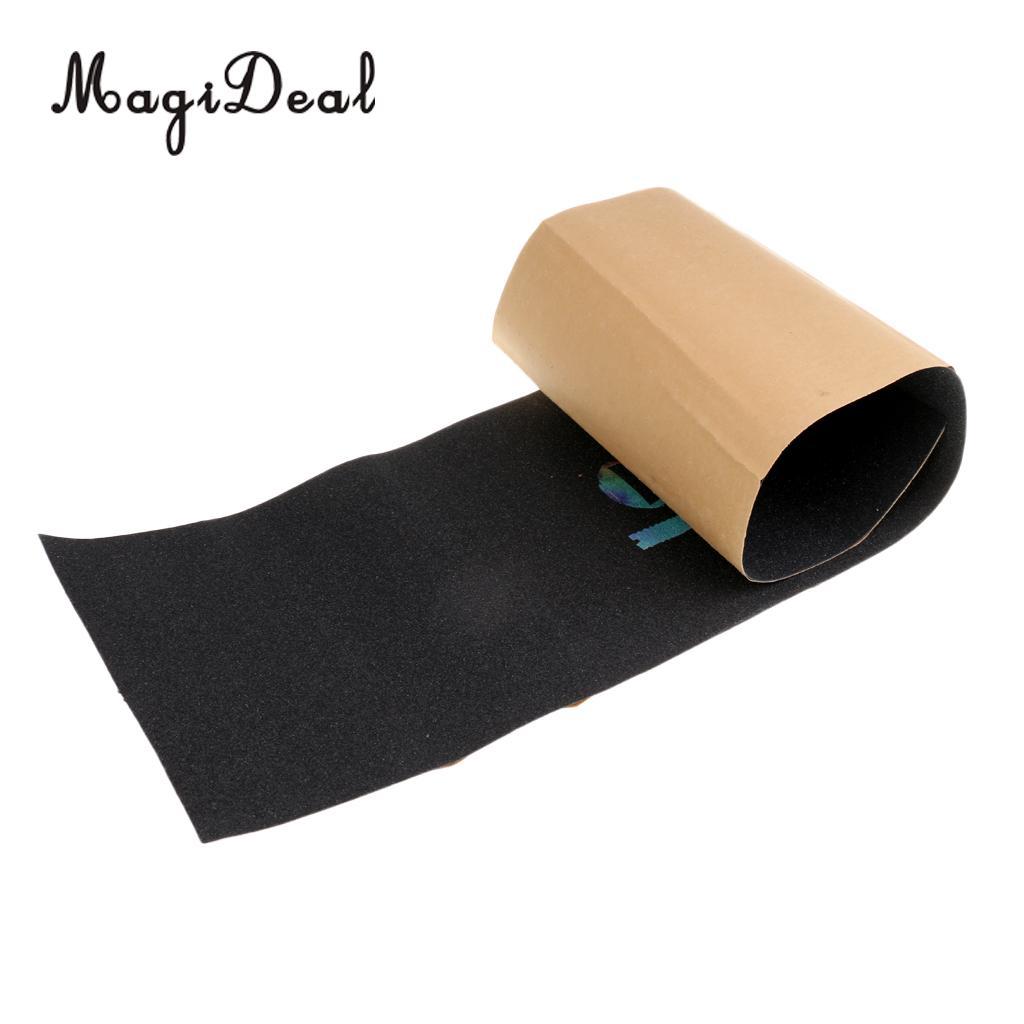 MagiDeal Waterproof Skateboard Deck Sandpaper Skating Board Grip Tape Griptape ...