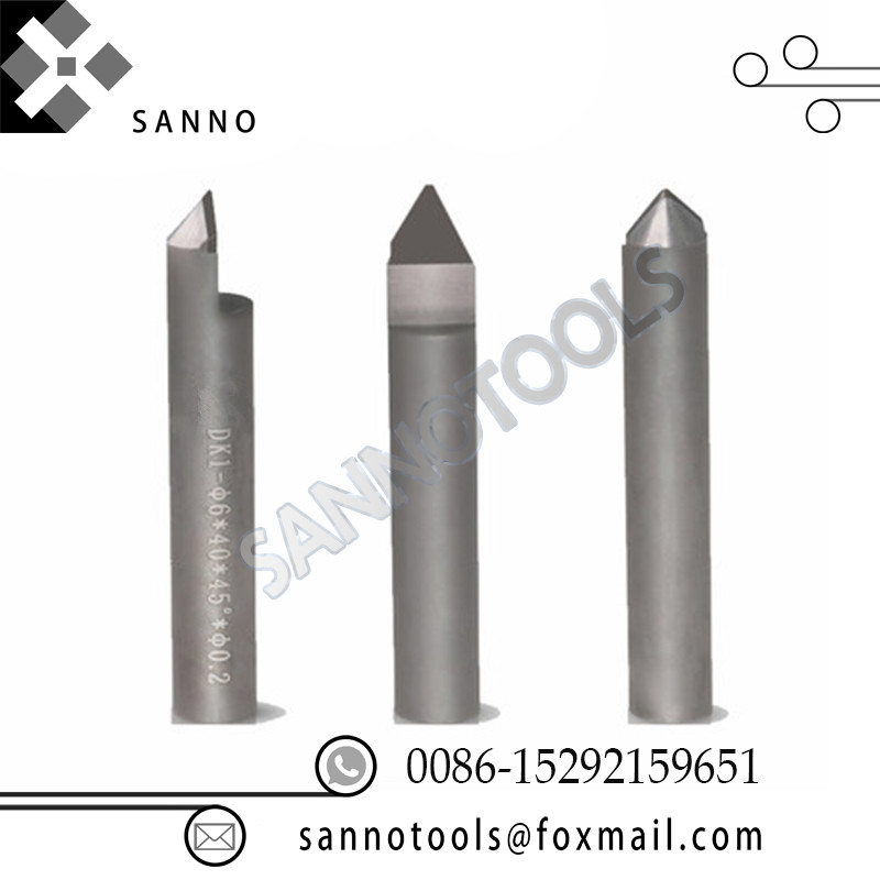 цена на Engraving machine cutter cutting bits cnc carving tool diamond burr router bits PCD milling cutter lettering knife for granite