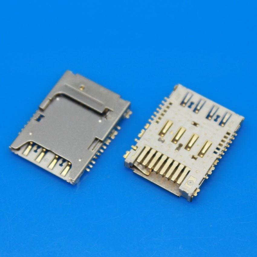 2pcs SIM Micro SD Memory TF Card Tray Reader Slot Holder Socket For LG G3 D850 D851 D855 D857 D858 D859 F400 VS985
