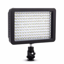 Cámara de vídeo wansen w160 led lámpara de luz para canon nikon pentax sony dv la misma con cn-160 mejor que arilight mini led luz