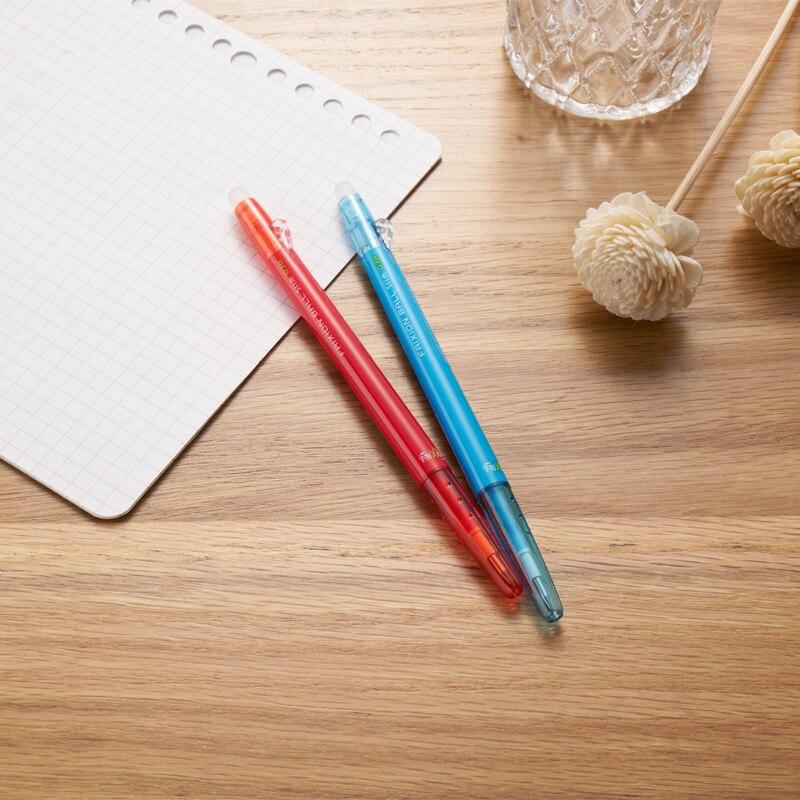 6 pcs/lot Pilot 0.38mm effaçable stylo Kawaii Gel stylo FriXion bille mince stylos école & bureau papeterie japonais LFBS-18UF