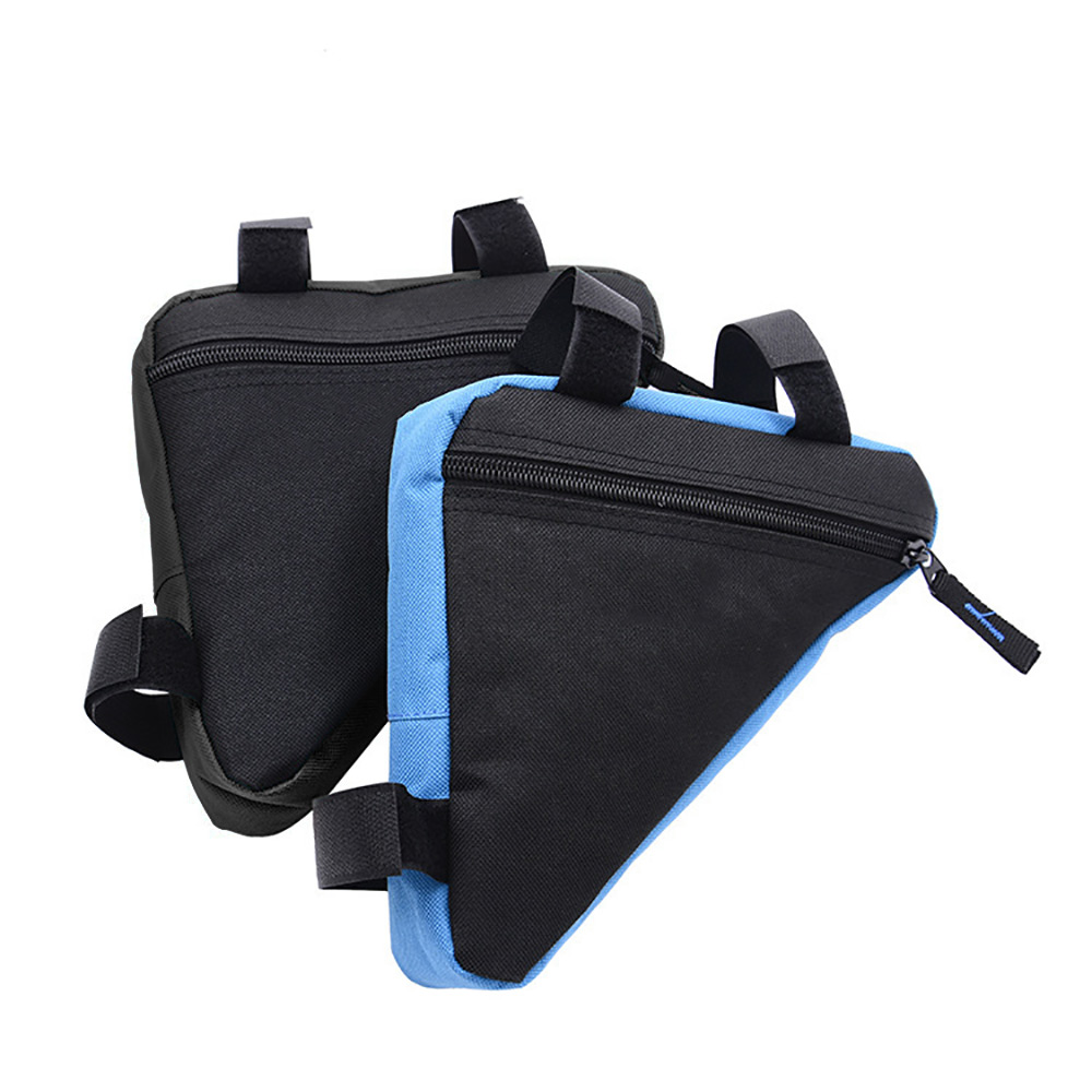Bicycle Bag Triangle Water-proof Cycling Sports Bags Front Tube Bags Saddle Holder Scratch Proof Mountain Road MTB Bike Pouch