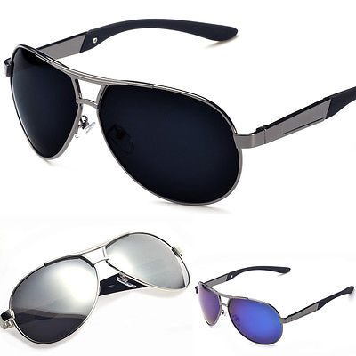 New Mens Polarized Aviator Sunglasses Mirrored Outdoor Driving Fishing  Glasses-in Sunglasses from Apparel Accessories on Aliexpress.com  cfdc4edeb76