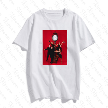 Friends Tv Fashion Art T Shirt Women Kawaii Punk Tumblr Gothic Skipoem Short Sleeve Cotton Plus Size Tee Shirt Femme Streetwear new cotton women t shirt friends tv fashion art fashion artwork print short sleeve tops