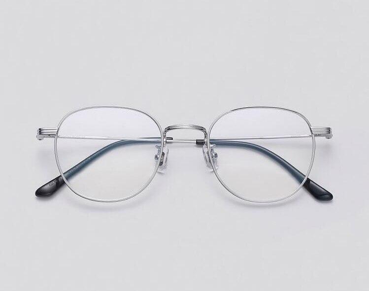 Lunettes De prescription optiques De marque douce cadre Ultra-léger titane cadre rond hommes femmes lecture lunettes cadre Oculos De Grau