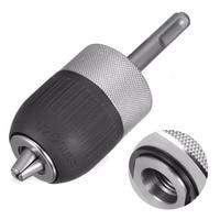 DWZ 1 2 3 Jaw 2 13MM Metal Keyless Impact SDS Hammer Drill Chuck Hand Tool