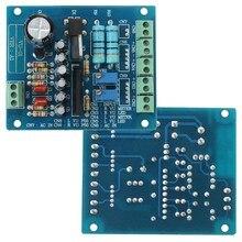 Nouvelle Arrivée AC 12 V Stéréo VU-Mètre Pilote Conseil Amplificateur DB Niveau D'entrée Audio Rétro-Éclairé