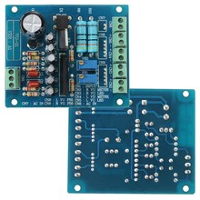 New Arrival AC 12V Stereo VU Meter Driver Board Amplifier DB Audio Level Input Backlit