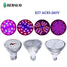 LED Grow Light Fitolampa 6W/10W/18W24W/48W/90W LED Plant Light for Flower plant Aquarium Hydroponics AC85-265V Grow Tent Lamp AE