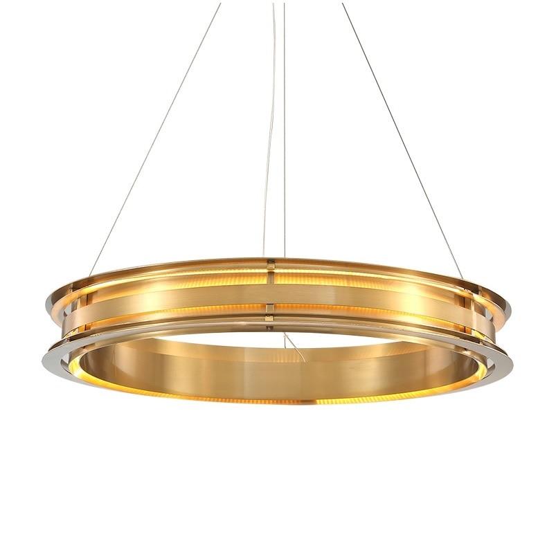 90W Metal Circular Ring Lamp / 60cm Diameter /