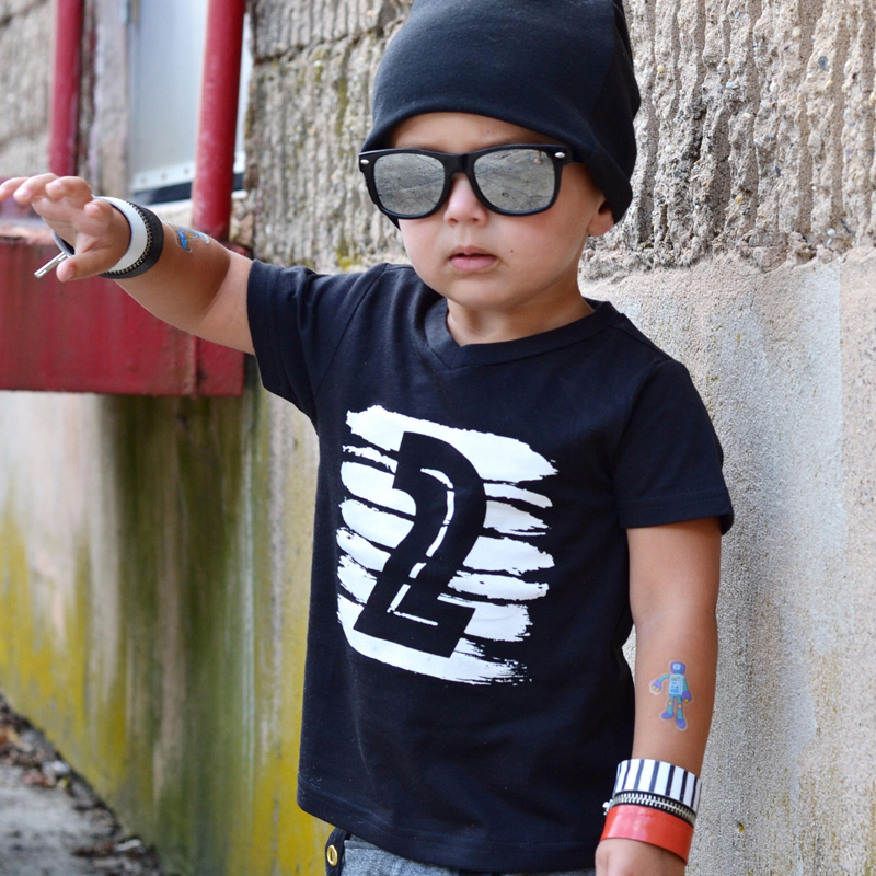 kids Brothers Summer Daily Wear T-shirt for Girls Boys Clothing 1-4 year Birthday party Tshirt Cotton Tee Tops Children Clothing
