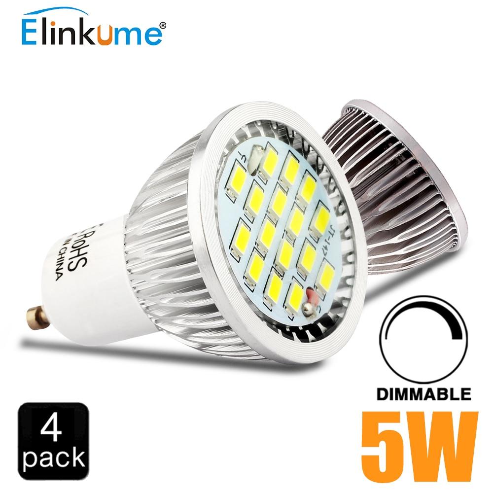4x super bright gu10 bulbs light dimmable led warm white 220v 5w gu10 16led led lamp light gu10. Black Bedroom Furniture Sets. Home Design Ideas