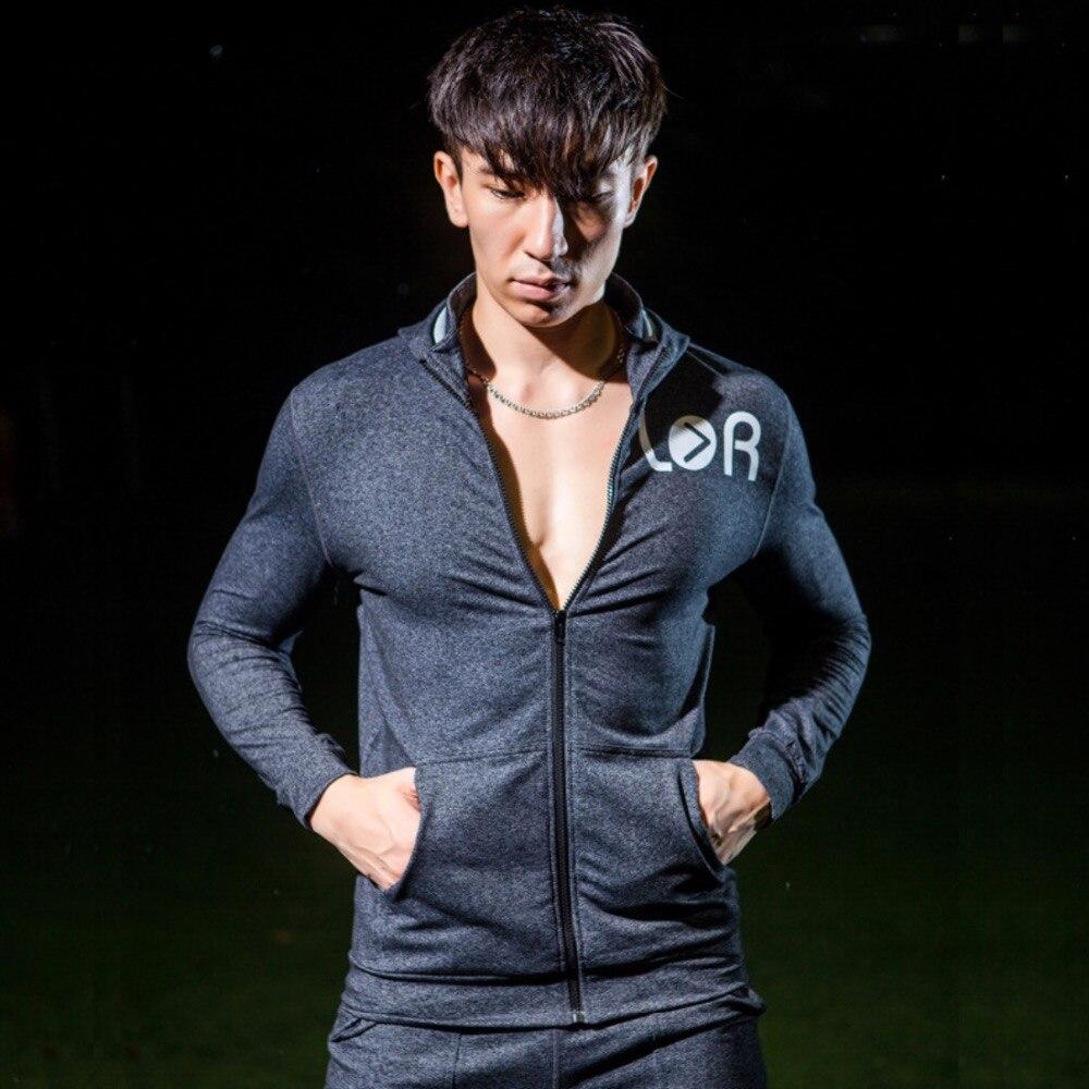 SY95032 Herren Outdoor Sportjacke Running Jersey Schnelltrocknend - Sportbekleidung und Accessoires - Foto 2