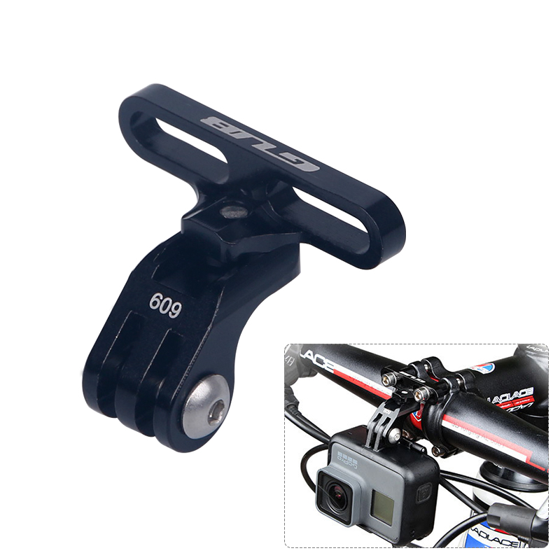 gub new bike handlebar stem extension rack for sports camera mount gopro support stand cnc alloy. Black Bedroom Furniture Sets. Home Design Ideas
