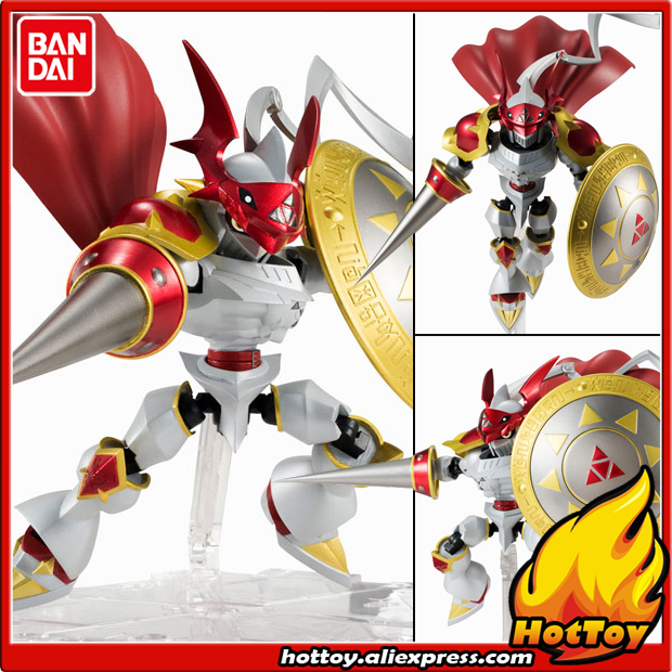 100 Original BANDAI Tamashii Nations NXEDGE STYLE No 0036 Action Figure Dukemon from Digimon Tamers