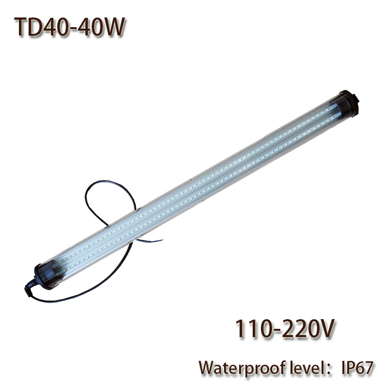 цены HNTD 40W 110V AC 220V Led Waterproof Work Light 1480mm Long High brightness lighting IP67 Explosion-proof TD40 Hot sale