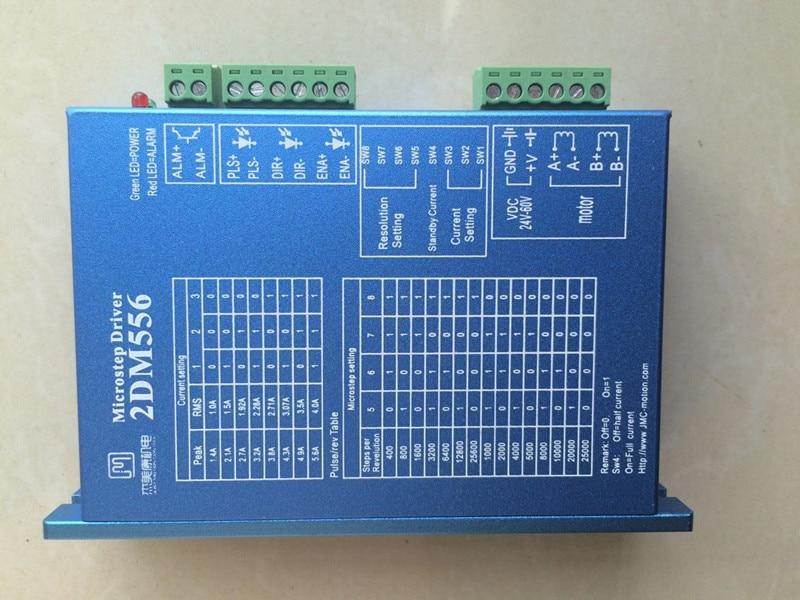 2DM556 2 phase NEMA23 stepper motor driver 32bit DSP DC36V 5.6A JMC replace leadshine DM556