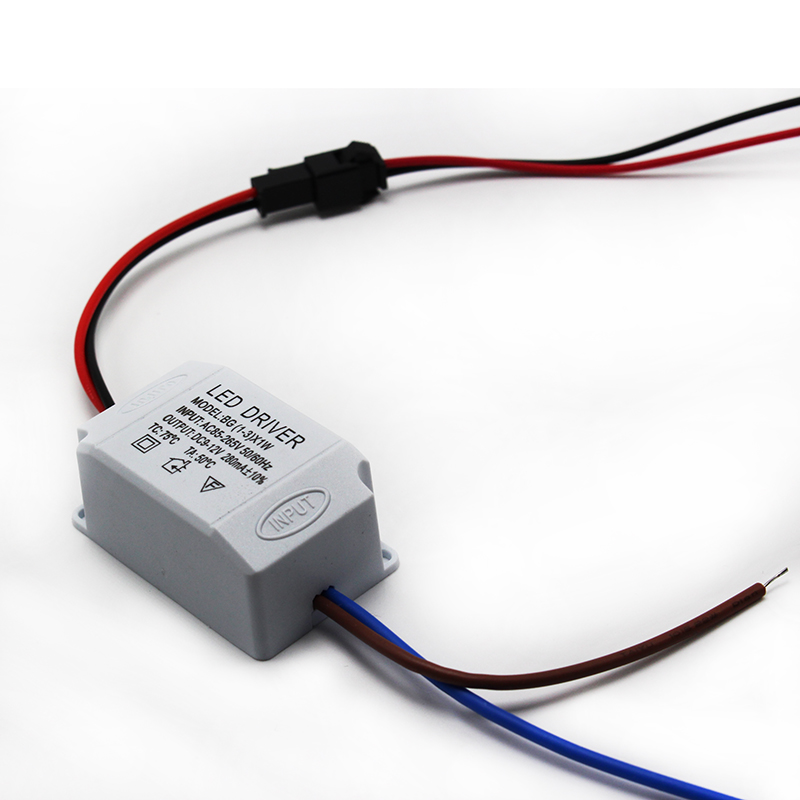 LED Electronic Transformer AC 85V-265V to DC 2V-12V Power Supply Driver 3X1W стоимость