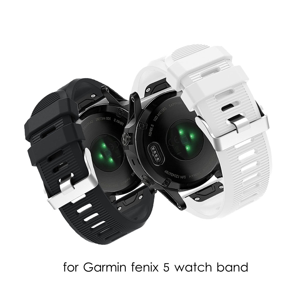Fenix 3 band for Garmin fenix 5 watch strap 20mm 26mm 22mm Silicone Garmin watch band Fenix5X/Fenix3/3HR Garmin Fenix5/935 5S image